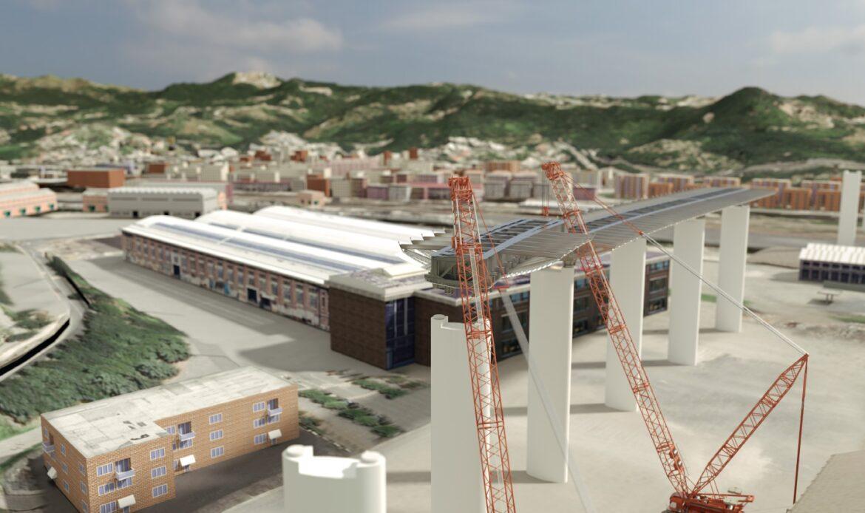 Dal modello BIM alla simulazione delle operazioni di varo del nuovo ponte sul Polcevera