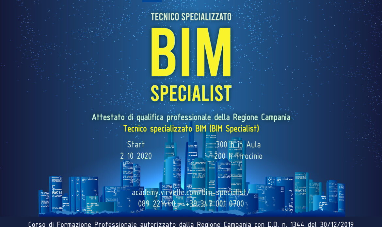 Corso Tecnico Specializzato BIM – BIM Specialist a Salerno
