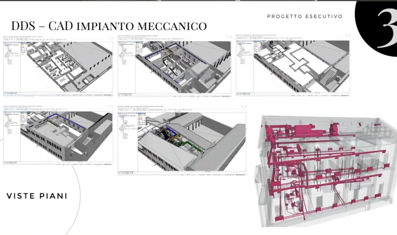 Sacee l'esperienza con DDS CAD per la progettazione impiantistica Open BIM e la collaborazione