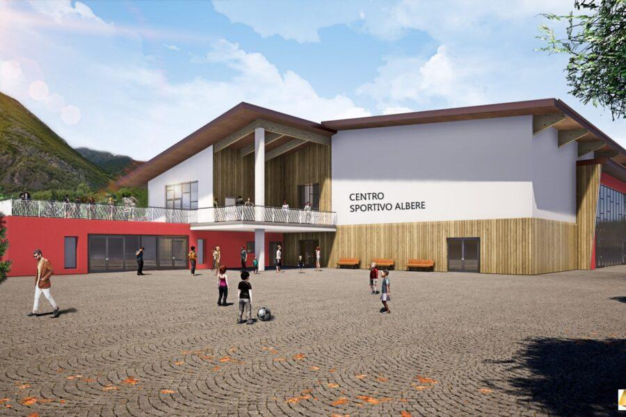 Nuovo centro sportivo Albere di Aldeno