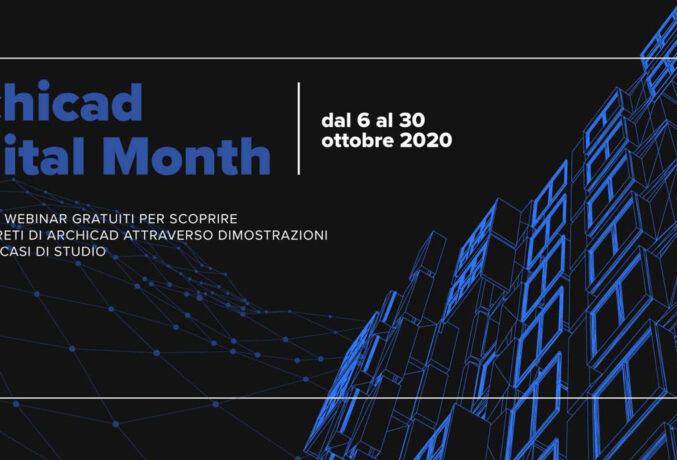 Archicad Digital Month: un mese a tutto BIM