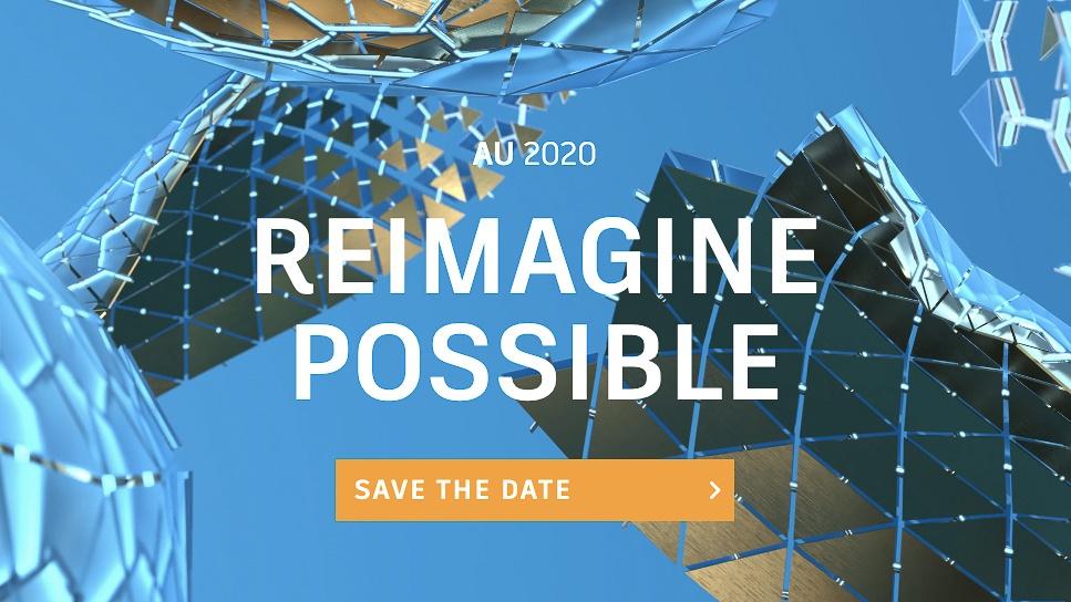 18-20 novembre – Autodesk University 2020, online e gratuita