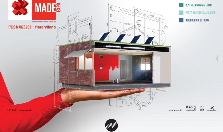 MADE EXPO 2021: a Milano l'architettura e l'edilizia rispondono alla voglia di ripartenza