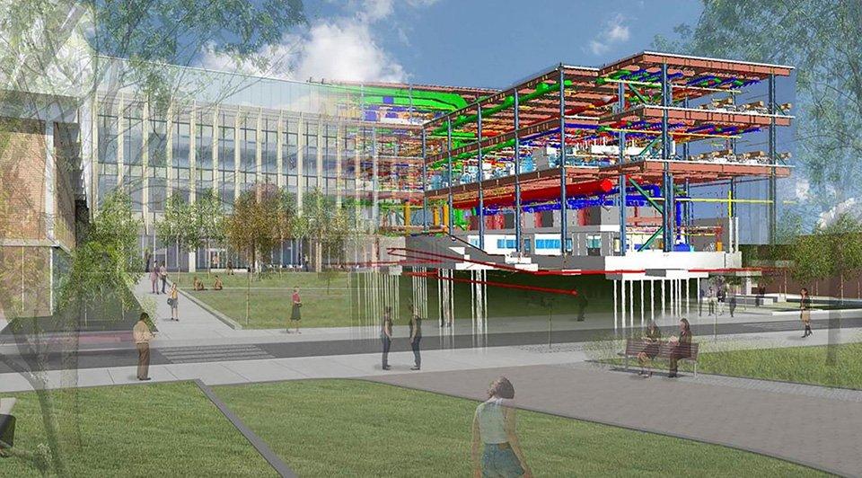 Il BIM per il centro di ricerca della Brown University