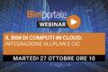 27 Ottobre – Webinar Il BIM di Computi In Cloud: integrazione Allplan e CIC