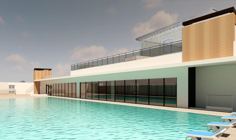 Nuova piscina a Lavis