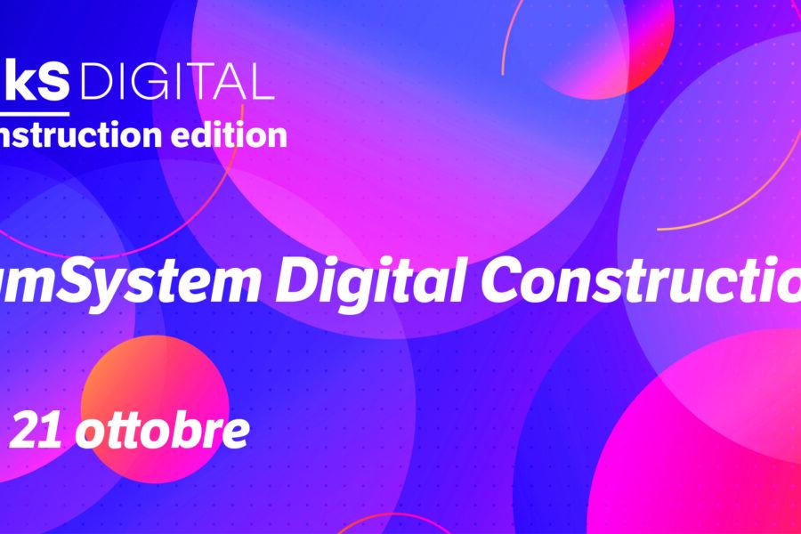Partecipa ai Talks DIGITAL Construction Edition 2020