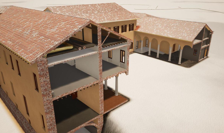 Ristrutturazione e riqualificazione energetica Castello Beccaria Litta