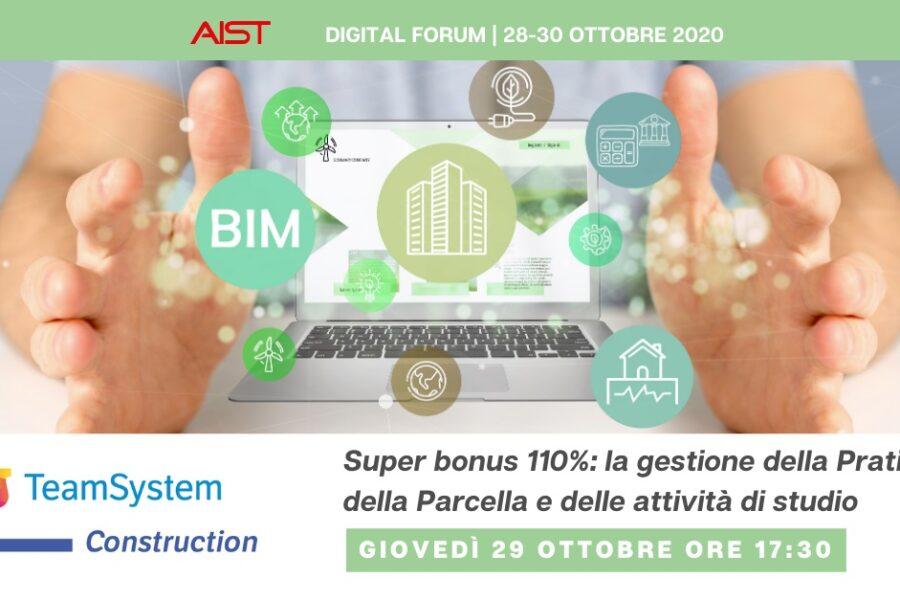 28-30 Ottobre – Digital Forum AIST