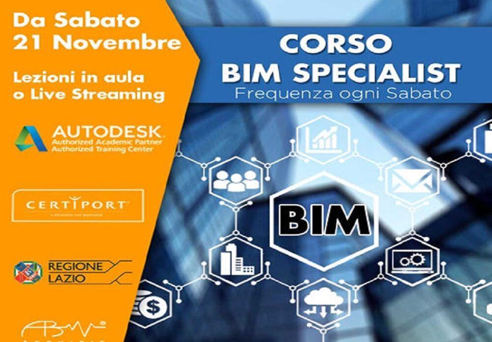 11 Novembre – Corso Archibit BIM Specialist