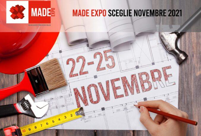 MADE expo: appuntamento a novembre