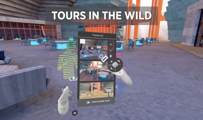 The Wild lancia la nuova funzionalità Tours
