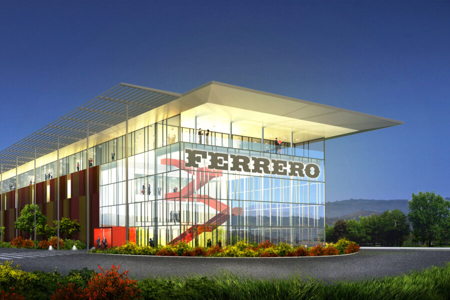 Ferrero Technical Center ad Alba