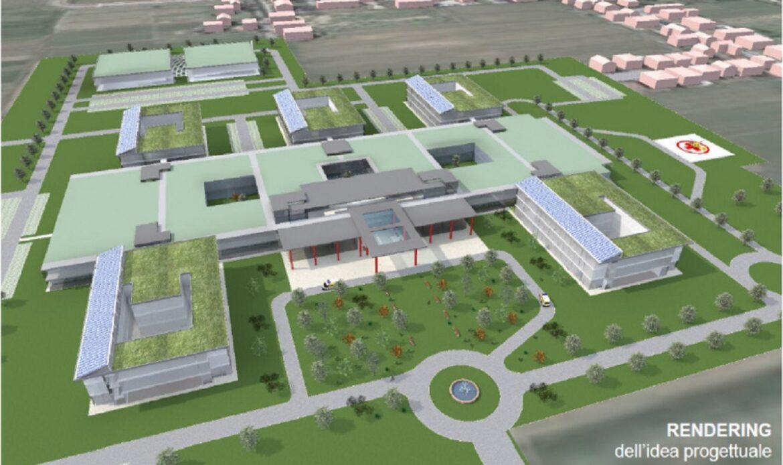 Progetto BIM per il nuovo Ospedale di Cesena