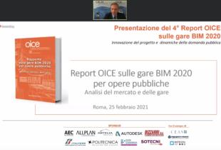 Rapporto BIM OICE 2020: cresce il valore del BIM, +140% rispetto al 2019