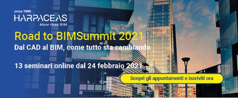 Road to BIMSummit 2021 – Dal CAD al BIM, come tutto sta cambiando