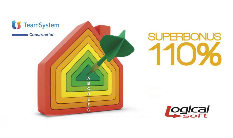 TeamSystem Construction e Logical Soft insieme per il Superbonus 110%