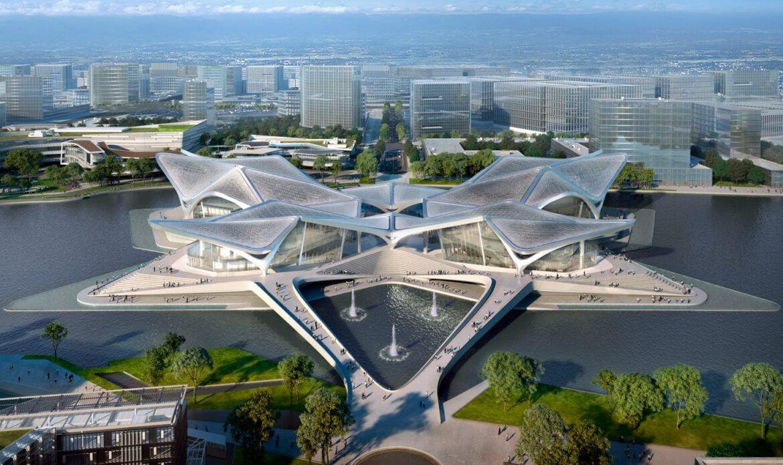 Il nuovo centro culturale di Zhuhai progettato da Zaha Hadid Architects