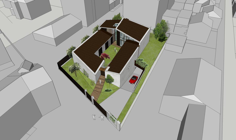 Villa residenziale bioclimatica