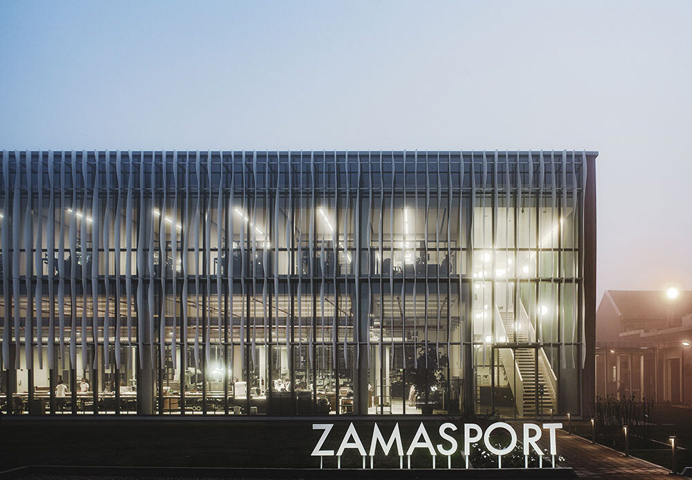 Massima sostenibilità per l' headquarter Zamasport