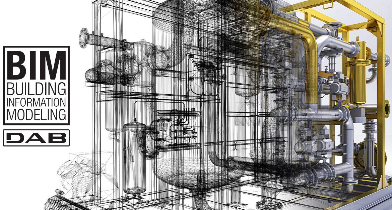 DUB Pumps mette a disposizione i modelli BIM dei suoi prodotti