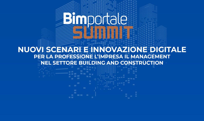 BIMPORTALE SUMMIT: nuovi scenari e innovazione digitale