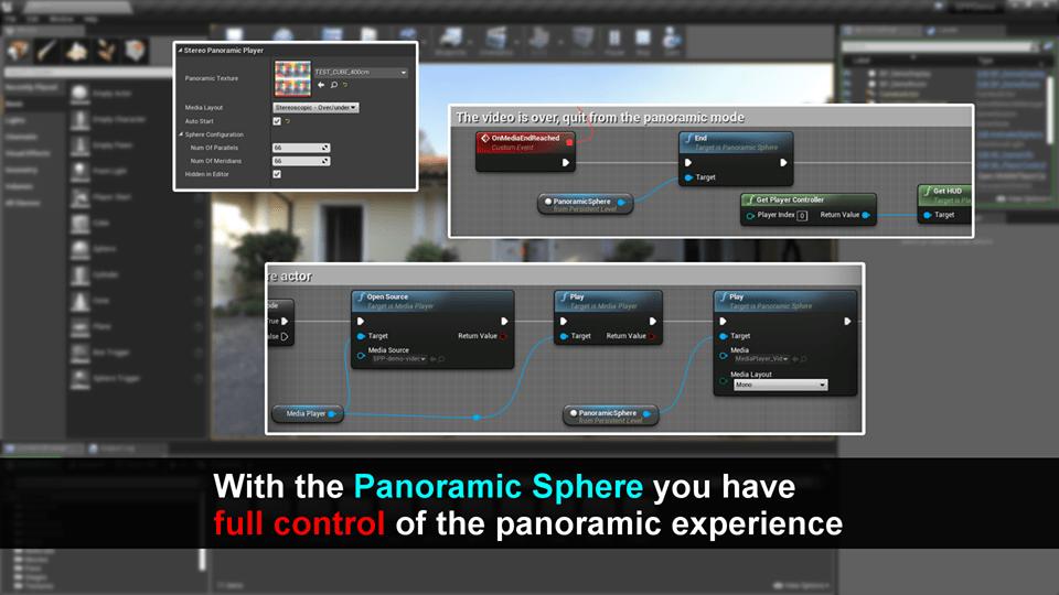 Stereo Panoramic Player