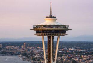 Restyling dello Space Needle di Seattle
