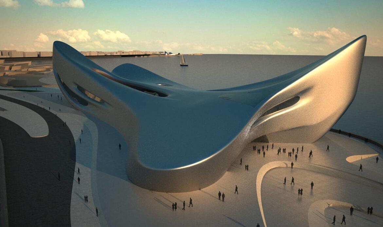 Finanziato il Museo del Mare di Zaha Hadid a Reggio Calabria