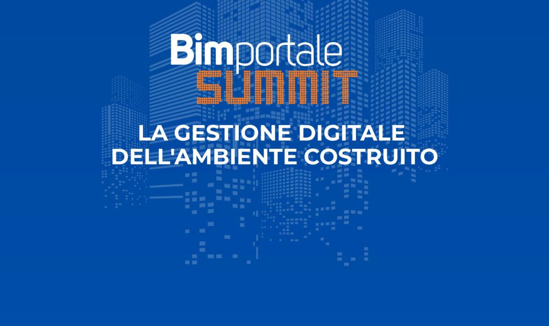 Bimportale Summit – La gestione digitale dell'ambiente costruito