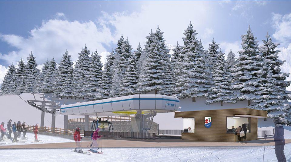 A Cortina un nuovo impianto per le Olimpiadi realizzato in BIM