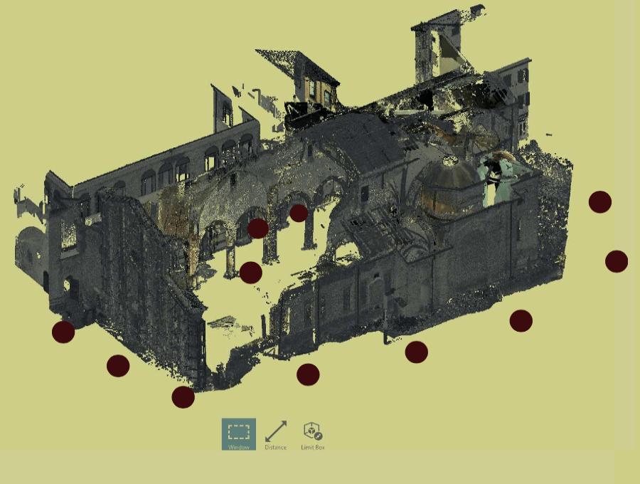 Il BIM per il restauro della chiesa di San Francesco a Mirandola