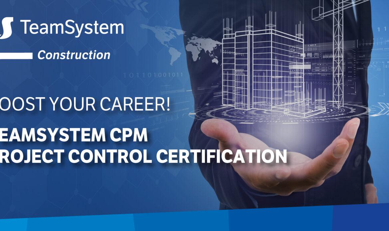 18 Giugno – Corso di certificazione all'uso di TeamSystem CPM Project Control