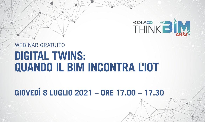 8 luglio – Digital Twins: quando il BIM incontra l'IoT
