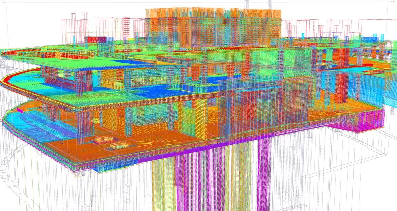 Tekla Structures per il grattacielo One Nine Elms di Londra