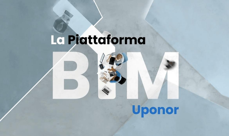 Uponor lancia la sua nuova piattaforma BIM
