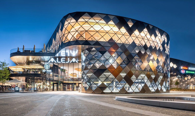 Aleja Shopping Center a Lubiana