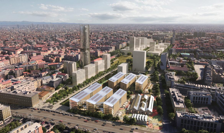 Scalo di Porta Romana: a SOM il progetto del villaggio olimpico invernale 2026