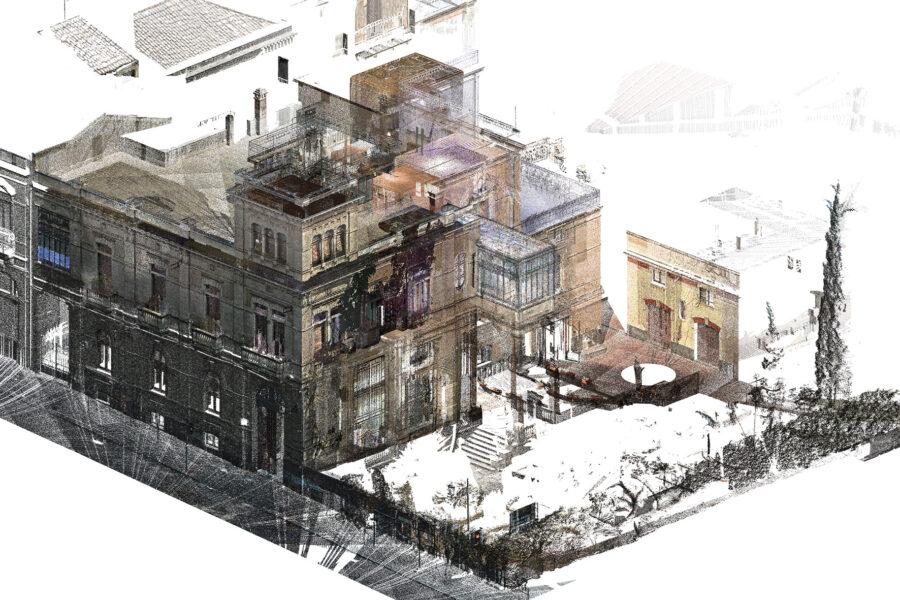 """HBIM e AI per edifici """"senzienti"""": il caso villa Zingali Tetto a Catania"""