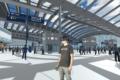 I passeggeri di HS2 utilizzano la realtà virtuale per testare il nuovo design della stazione