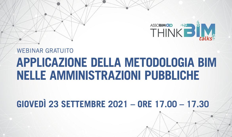 23 settembre – Applicazione della metodologia BIM nelle amministrazioni pubbliche