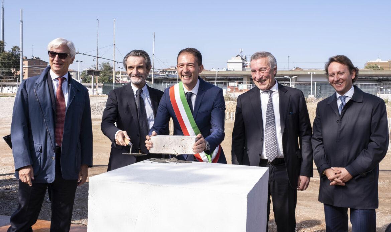MilanoSesto: posata la prima pietra della nuova stazione ferroviaria di Sesto San Giovanni