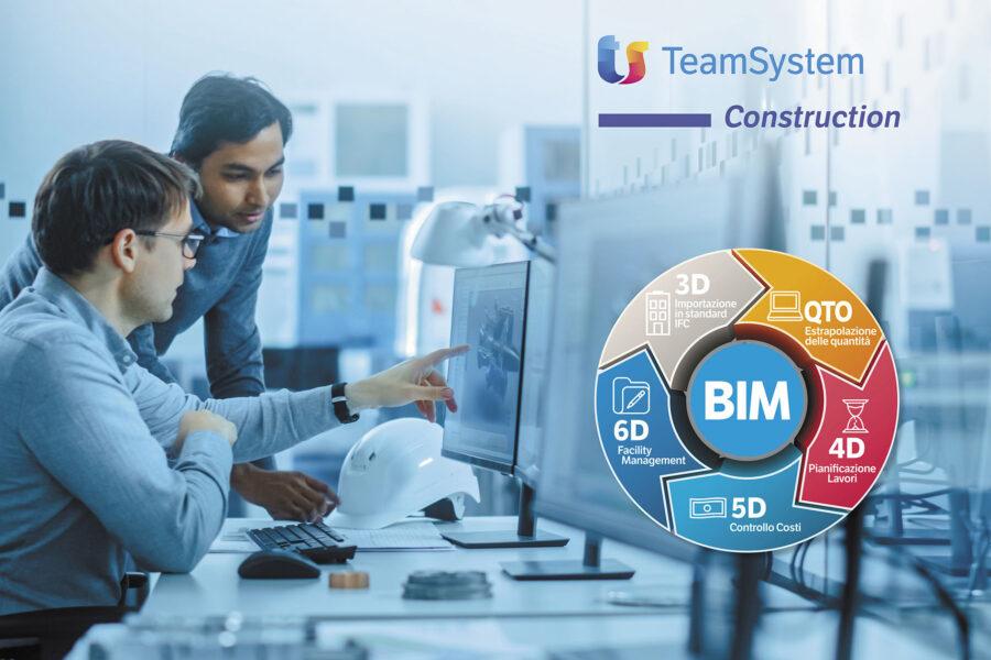 BIM All in One: da TeamSystem tutto quello che serve per la gestione BIM