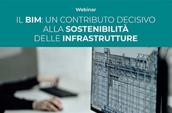 4 novembre – Il BIM: un contributo decisivo alla sostenibilità delle infrastrutture