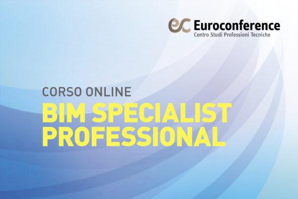 CORSO_BIM SPECIALIST PROFESSIONAL_ONLINE