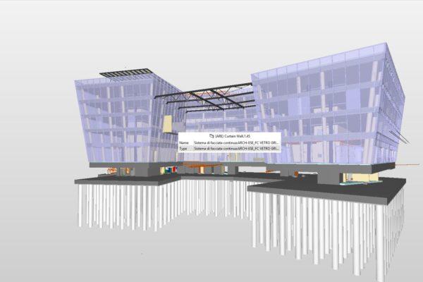 1 Modello interdisciplinare Federato_Progetto Esecutivo_Centro Direzionale - Terziario