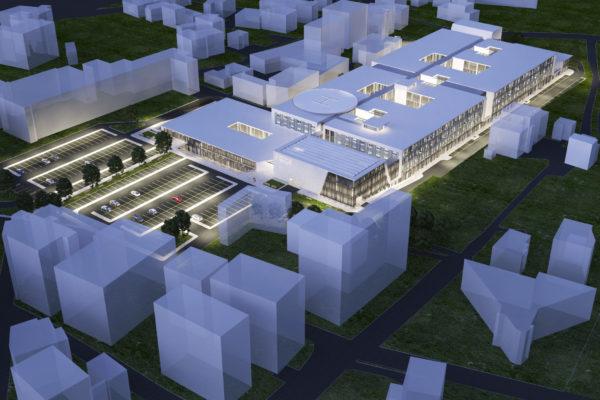1 Nuovo ospedale F. Renzetti, Lanciano (CH). Progettazione preliminare, 2018