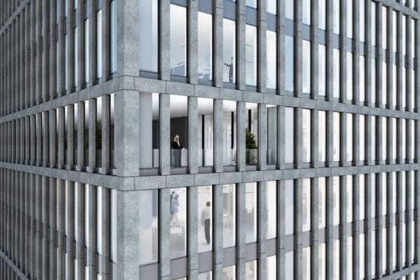 1 Scansione della nuova facciata