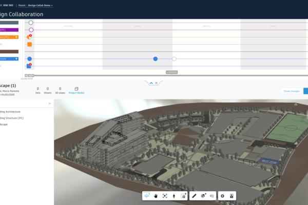 BIM360-Design-Collaboration-Explore-Landscape-Model