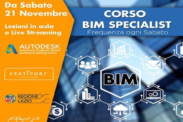 corso BIM Specialist roma
